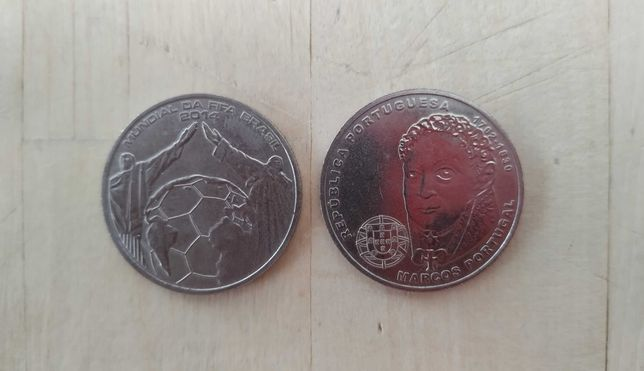 Moedas em prata comemorativas 2,5€