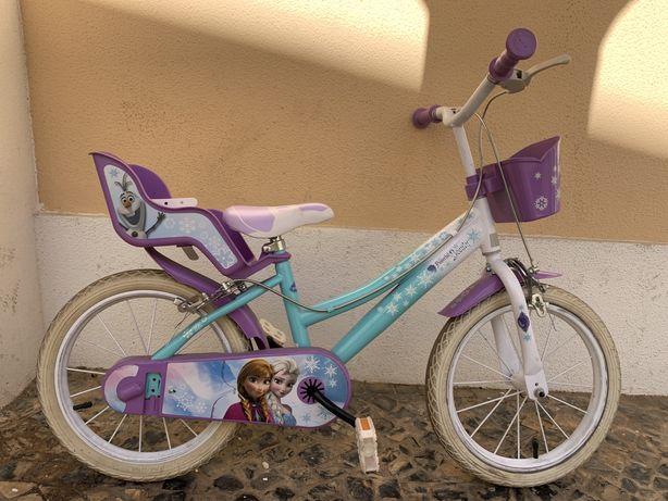 Bicicleta da Frozen roda 16