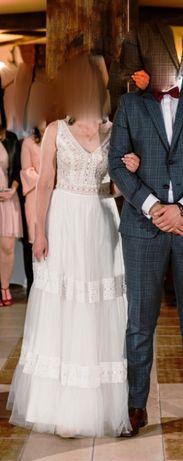Suknia ślubna w stylu boho