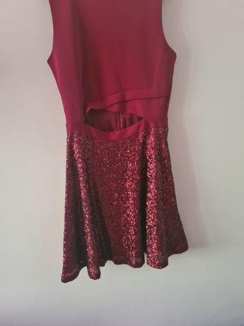 Sukienka asos cekiny retro 36 s
