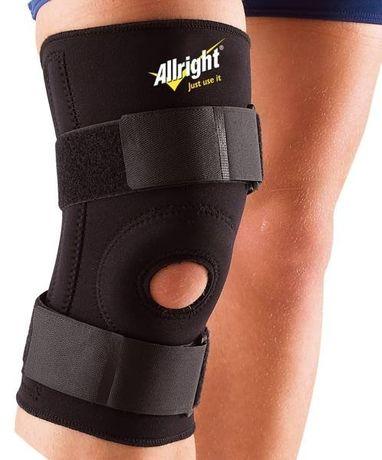 Ściągacz na kolano rzep neopren ALLRIGHT r.XL