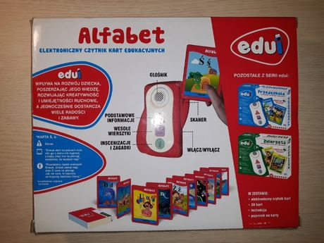 Karty edukacyjne Alfabet Edui