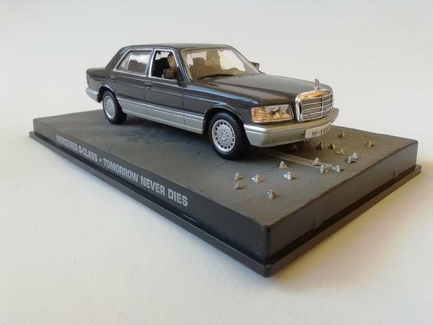 1/43 Mercedes 500 SE - James Bond [007] (Miniatura - Eaglemoss)