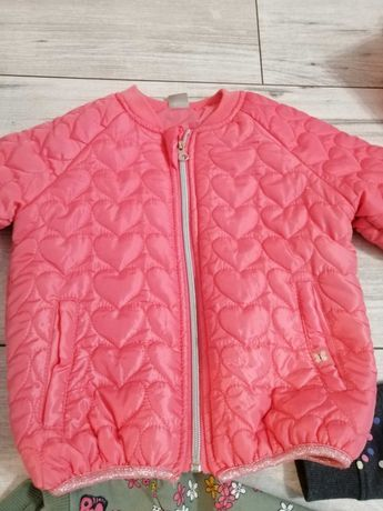 Bluza spodnie kurtka 110 i 116, opcja dla bliźniaczek