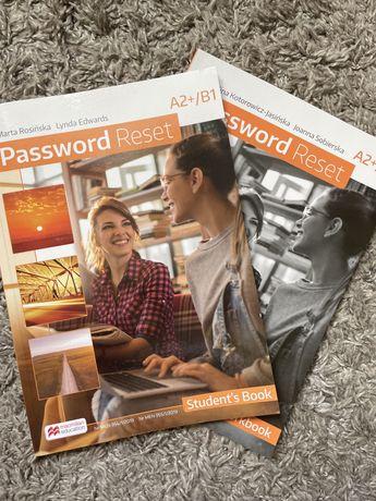 Password Reset A2+B1 podręcznik + ćwiczenia i kompetium język angielsk