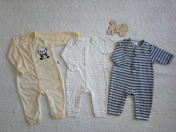 Ромпер на ребёнка 6-12 мес. Человечек, бодик, пижама, песочник