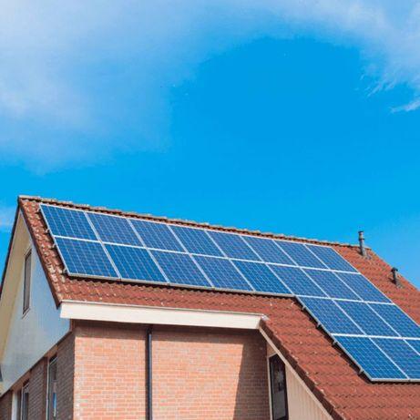 Встановлення Сонячних Панелей «під ключ» і Зелений Тариф (батарей)
