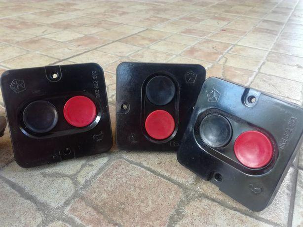 Кнопки пуск—стоп, пакетні вимикачі