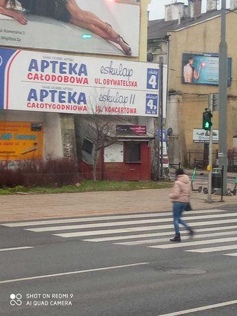 Kiosk usługowo handlowy w centrum miasta bardzo dobry punkt