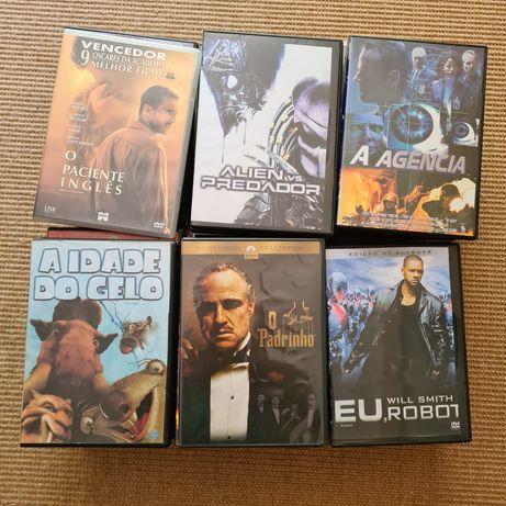 50 filmes em DVD