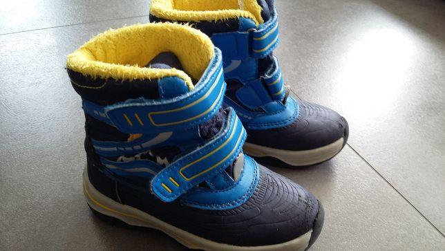Buty zimowe śniegowce r. 25 Lupilu