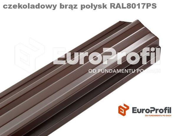 Metalowe sztachety Standard NOWOCZESNY DESIGN wzmocniony profil
