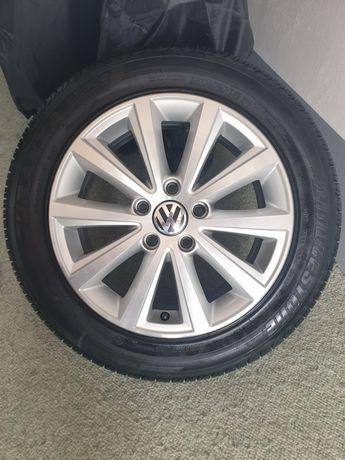 *Oryginalne alufelgi VW Audi z oponami 205/55/16*