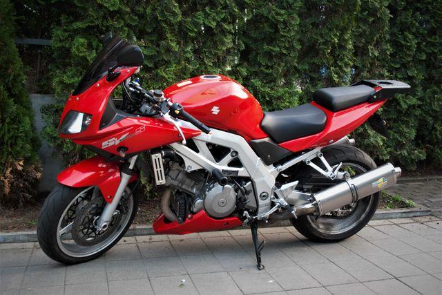 Suzuki sv 1000 s 06r gotowy do sezonu