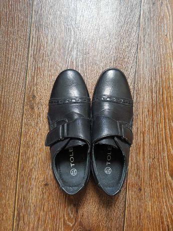 Туфли на мальчика, размер 27, стелька 19 см