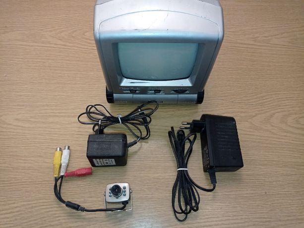 Telewizor + kamera monitoring