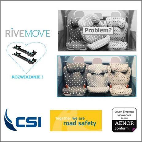 RiveMove 1 szt - czyli 3 foteliki na tylnej kanapie