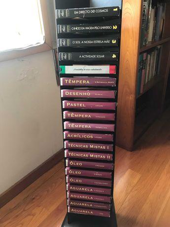 Desenho e Pintura Conjunto Cassete VHS e Fascículos