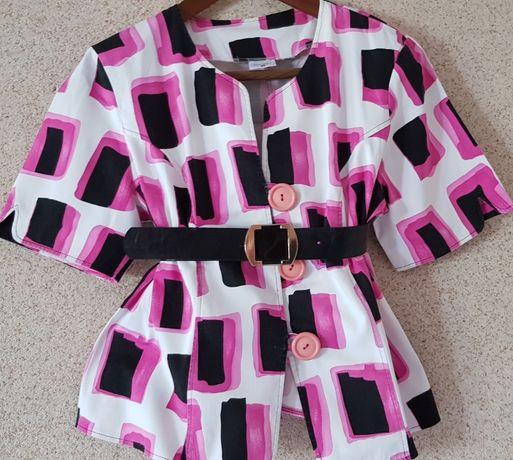 żakiet marynarka kostium narzutka baskinka bluzka