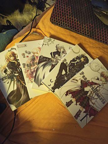 Pandora Hearts manga tomy 1-5