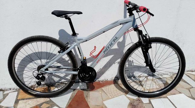 Bicicleta nova de Btt em aluminio-Roda 27,5-Excelente