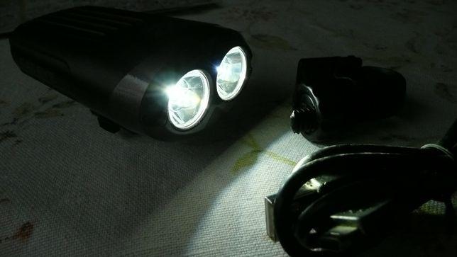 megamocna lampa rowerowa przednia CATEYE HL-EL625RC 600 lumenów !