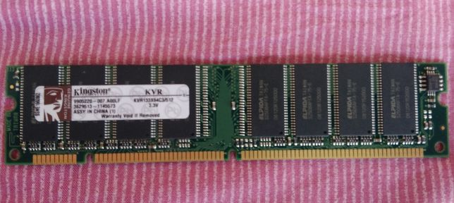 Memoria RAM para desktop KVR133X64C3/512 - Kingston