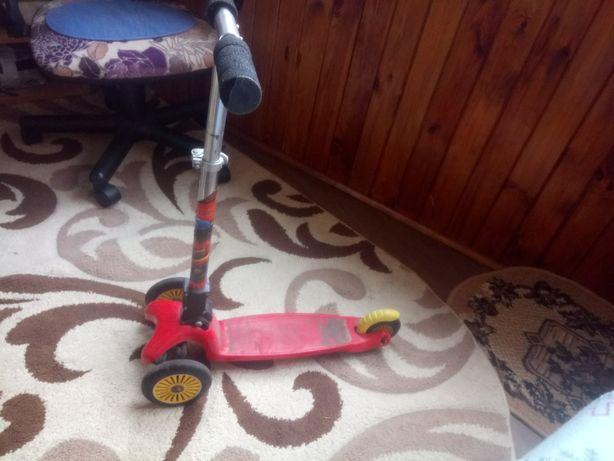 Самокат трёхколёсный детский Micro Mini