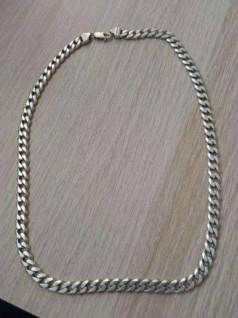Łańcuszek srebrny męski