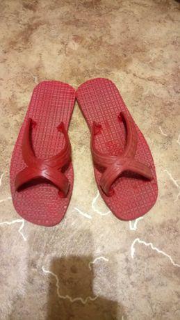 Шлепанцы р.33-34 22см сланцы бассейна басейна шлепки тапочки сандали