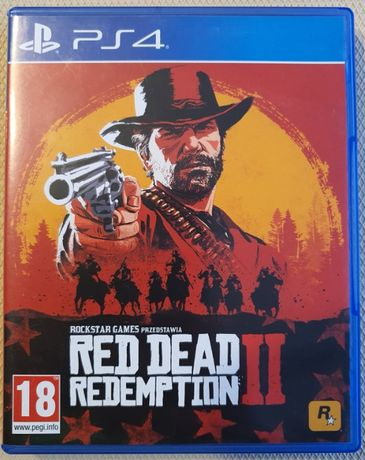 Red Dead Redemption 2 PS4 PL Playstation 4 RDR2