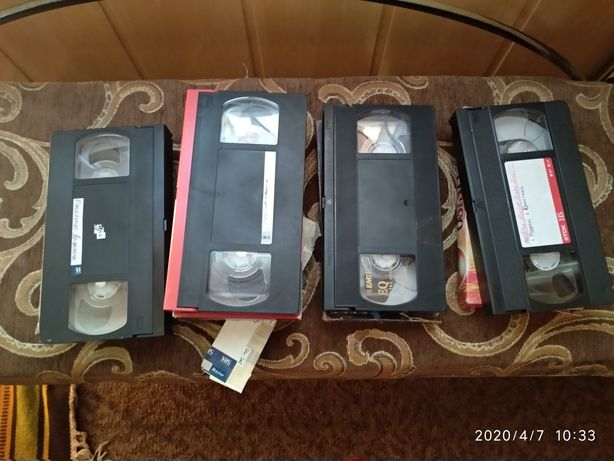 Продам відеокасети