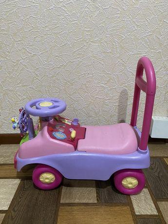 Машинка детская для девочки от1 до 3
