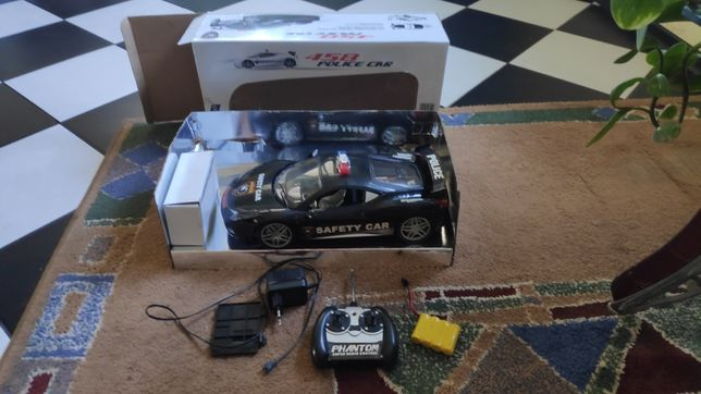 машинка на радиоуправлении с пультом ДУ