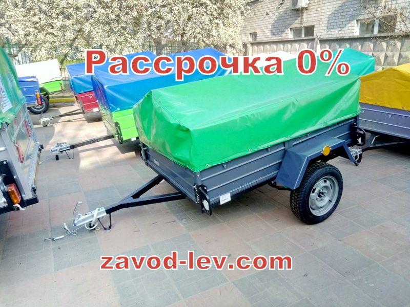 Легковой прицеп лев-18 в рассрочку 0% (от завода) Одесса - изображение 1