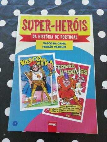 Super heróis da história de Portugal