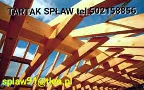 Więźba dachowa, deska ,łaty,drewno budowlane na dach ,tartak,transport