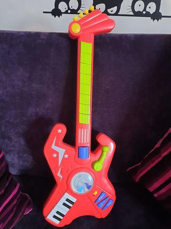 Gitara interaktywna dla dzieci