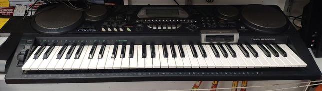 Keyboard Castio CTK-731; Lombard Jasło Igielna
