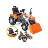 Traktor na Pedały Ciągnik Spychacz Łycha traktorek dla dzieci rowerek