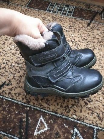 Ботинки,чобітки шкіряні 29р.цегейка