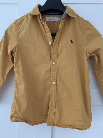 Miodowa koszula h&m
