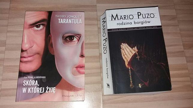 Książki 2szt Tarantula i Rodzina Borgiów