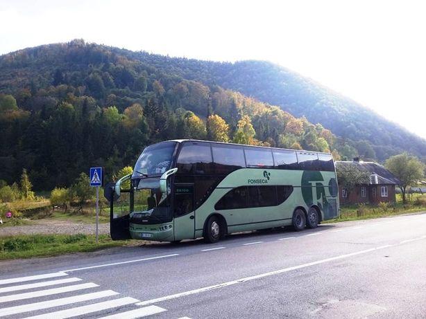 Продам великий двоповерховий автобус SCANIA. Торг!