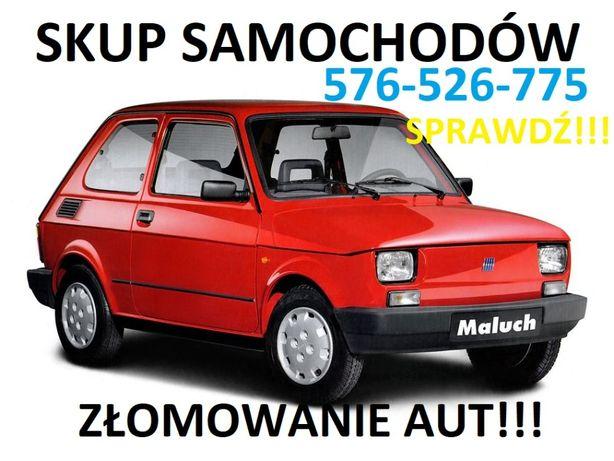 Skup Samochodów AUT ZŁOMOWANIE/ 1zł/KG Własny Transport