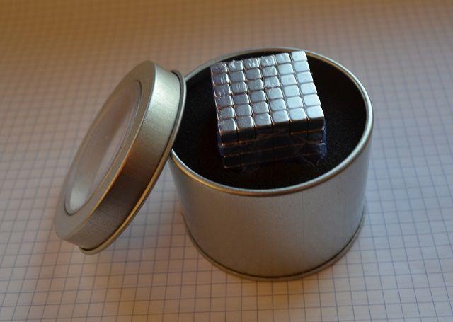 Kulki Kostak magnetyczna neodymowa Neocube 216el. 5mm kwadraty BOX