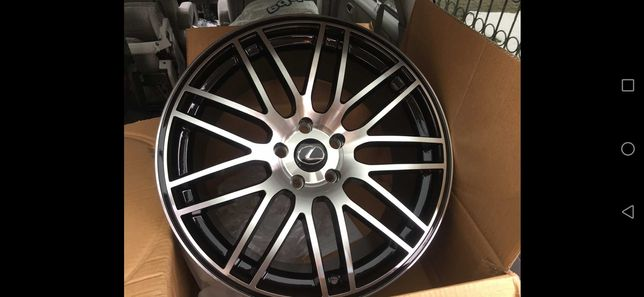 "Lexus Rc-f RCF GS-F felgi 19"" 5x114,3 9,5"" BBS Nowe Idealne Wawa"