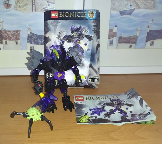 Zestaw Lego Bionicle Protector of Earth 70781