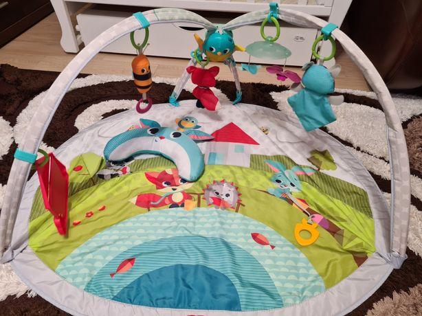 Развивающий коврик Tiny Love «Весёлая лужайка»