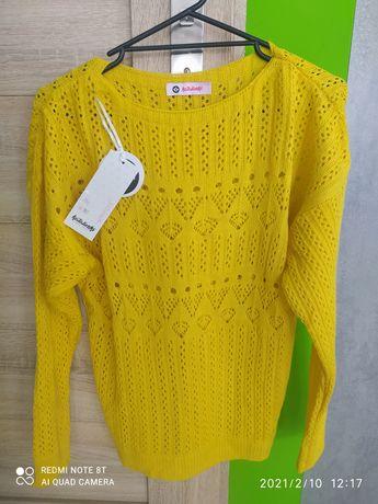 3 sweterki ażurowe cena za całość